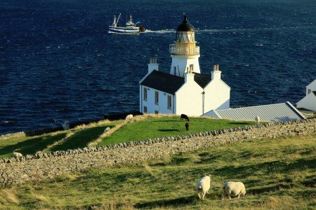 Scrabster Lighthouse Jigsaw Puzzle