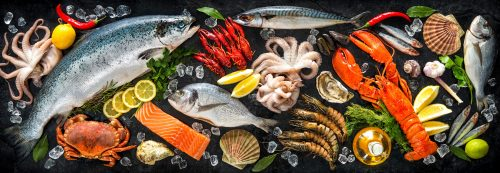 Seafood Choices Jigsaw Puzzle