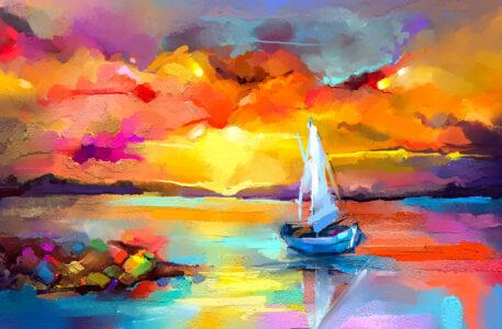 Seascape Colors Jigsaw Puzzle