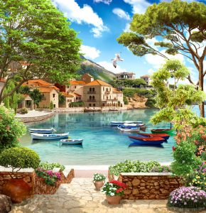 Seaside Villa Jigsaw Puzzle