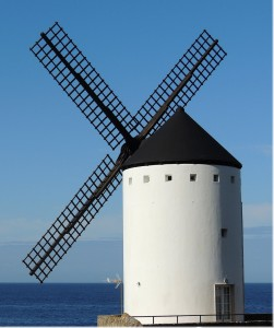 Seaside Windmill Jigsaw Puzzle