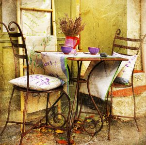 Seating for Two Jigsaw Puzzle