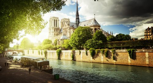 Seine in Paris Jigsaw Puzzle