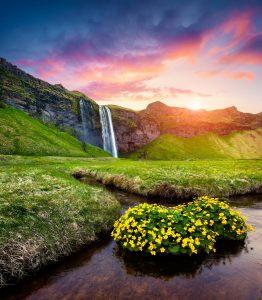 Seljalandfoss Waterfall Jigsaw Puzzle