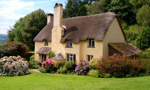 Selworthy Cottage Jigsaw Puzzle