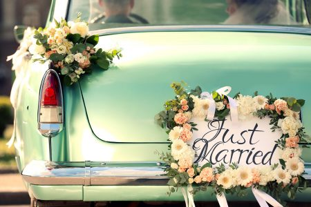 Senior Wedding Car Jigsaw Puzzle