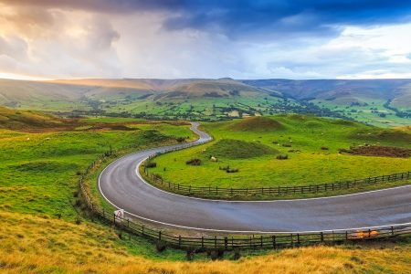 Serpentine Road Jigsaw Puzzle