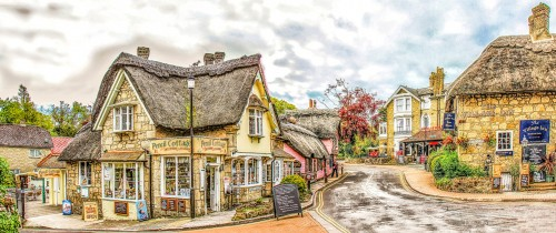 Shanklin Old Village Jigsaw Puzzle