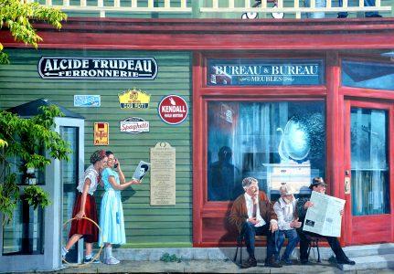 Sherbrooke Mural Jigsaw Puzzle