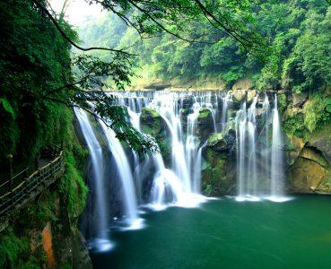 Shifen Waterfall Jigsaw Puzzle