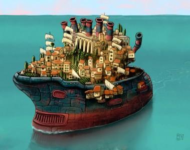 Shipshape City Jigsaw Puzzle