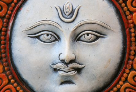 Shiva Sculpture Jigsaw Puzzle