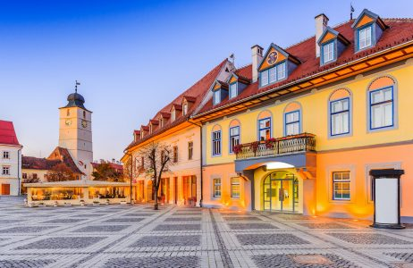 Sibiu Town Square Jigsaw Puzzle