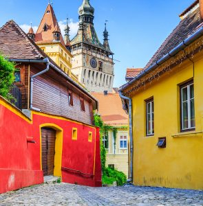 Sighisoara Clock Tower Jigsaw Puzzle