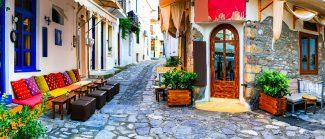 Skiathos Street Corner