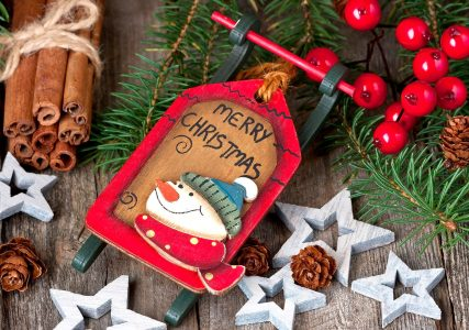 Sled Ornament Jigsaw Puzzle