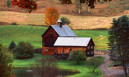 Sleepy Hollow Farm Jigsaw Puzzle