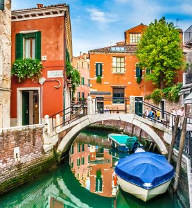 Small Canal Jigsaw Puzzle