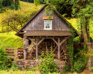 Small Watermill Jigsaw Puzzle