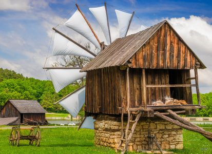 Small Windmill Jigsaw Puzzle