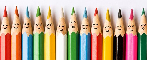 Smiley Pencils Jigsaw Puzzle