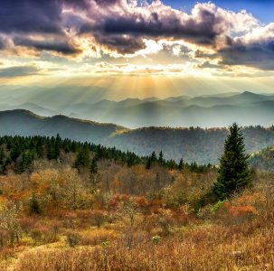 Smoky Mountains Vista Jigsaw Puzzle