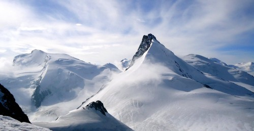 Snow Covered Alps Jigsaw Puzzle