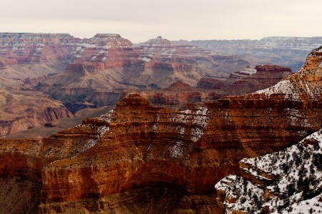 Snowy Grand Canyon Jigsaw Puzzle