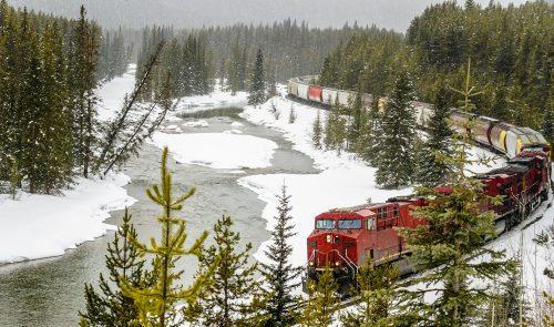 Snowy River Train Jigsaw Puzzle
