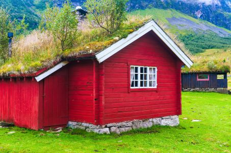 Sod Roof House Jigsaw Puzzle