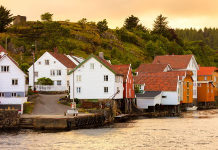 Sogndalstrand Waterfront Jigsaw Puzzle