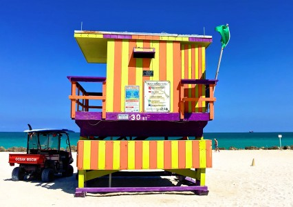 South Beach Jigsaw Puzzle
