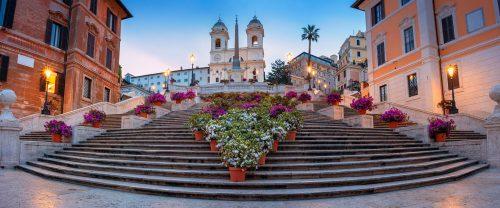 Spanish Steps Jigsaw Puzzle