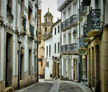 Spanish Town Jigsaw Puzzle