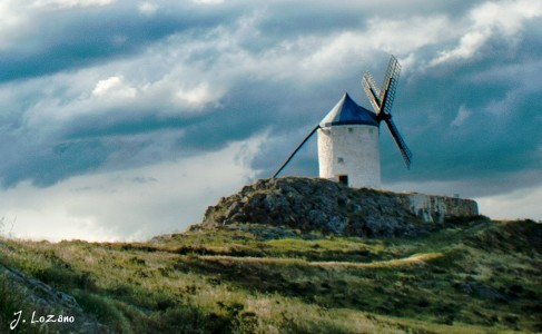 Spanish Windmill Jigsaw Puzzle
