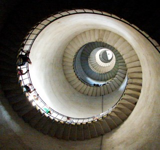 Spiral Staircase Jigsaw Puzzle