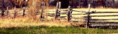 Split Rail Fence Jigsaw Puzzle
