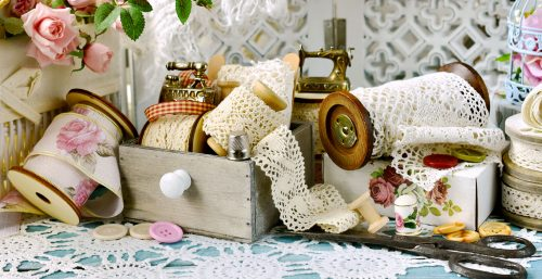 Spools of Lace Jigsaw Puzzle