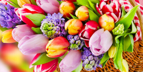 Spring Bouquet Jigsaw Puzzle