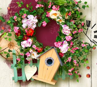 Spring Wreath Jigsaw Puzzle