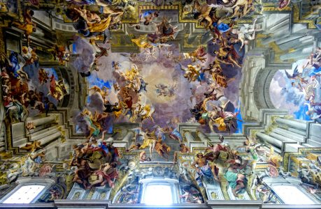 St Ignatius Ceiling Jigsaw Puzzle