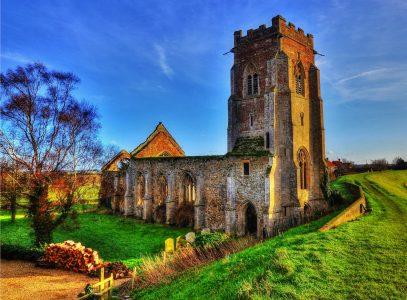 St Peter Church Ruins Jigsaw Puzzle
