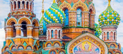 St Petersburg Church Jigsaw Puzzle