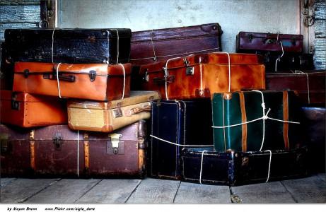 Stacked Luggage Jigsaw Puzzle
