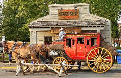 Stagecoach Jigsaw Puzzle