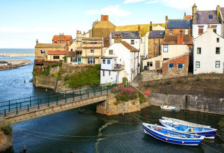 Staithes Footbridge Jigsaw Puzzle