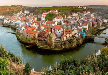 Staithes Overlook Jigsaw Puzzle