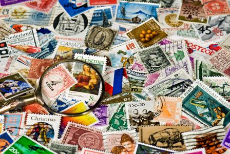 Stamp Collection Jigsaw Puzzle