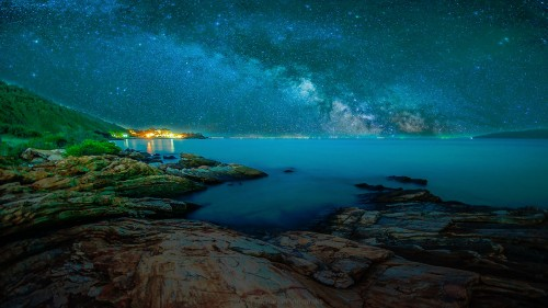 Starry Horizon Jigsaw Puzzle