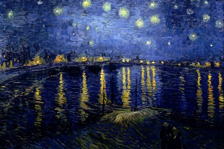Starry Night Over the Rhone Jigsaw Puzzle